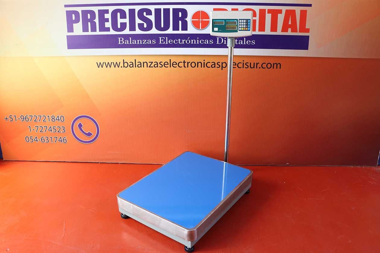 Balanza Electrónica de Plataforma Sukuri de 500 kg