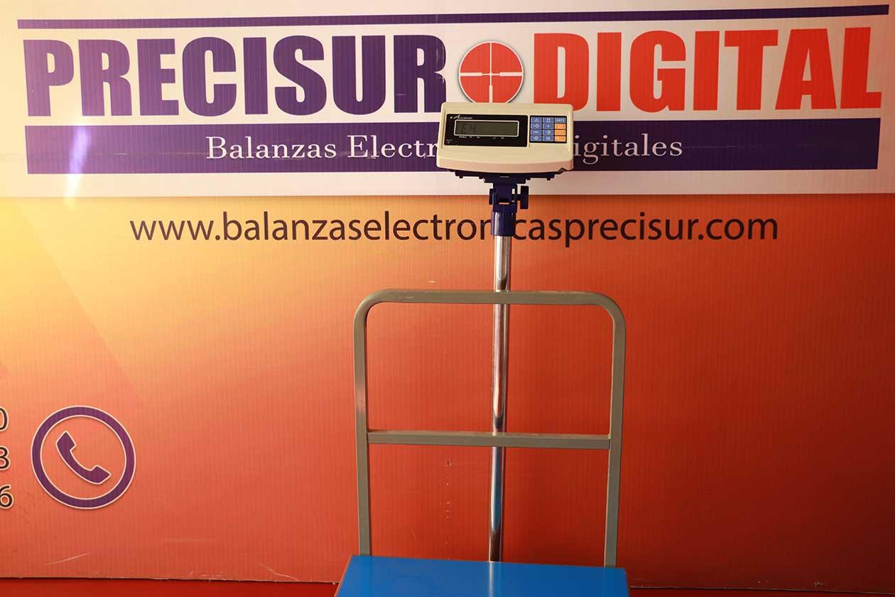 Balanza Electrónica de Plataforma e-Accura Sb-53 de 600 kg