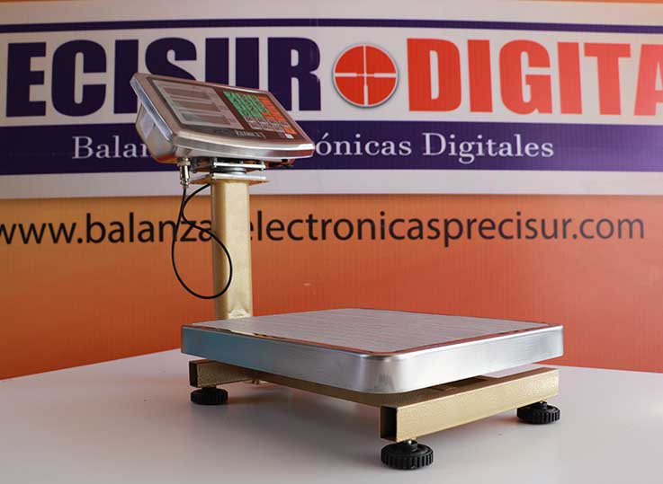 Balanza Electrónica de Plataforma Patrick's de 60 Kg