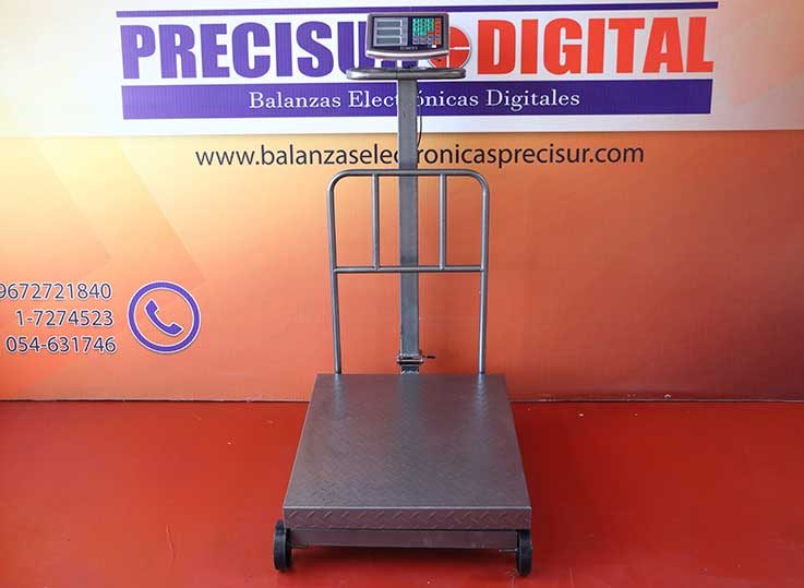 Balanza Electrónica de Plataforma Patrick's de 600 kg