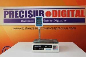 Balanza Valtox LCT30 de 30 kg