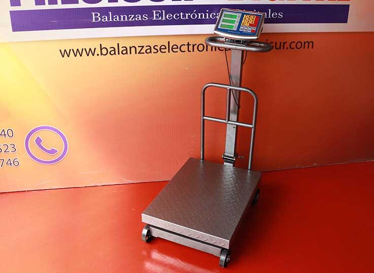 Balanza Electrónica de Plataforma Valtox de 500 kg