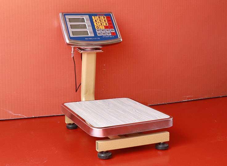 Balanza Electrónica de Plataforma Valtox de 60 kg