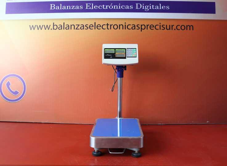 Balanza Electrónica de Plataforma e-Accura Sb-51 de 150 kg