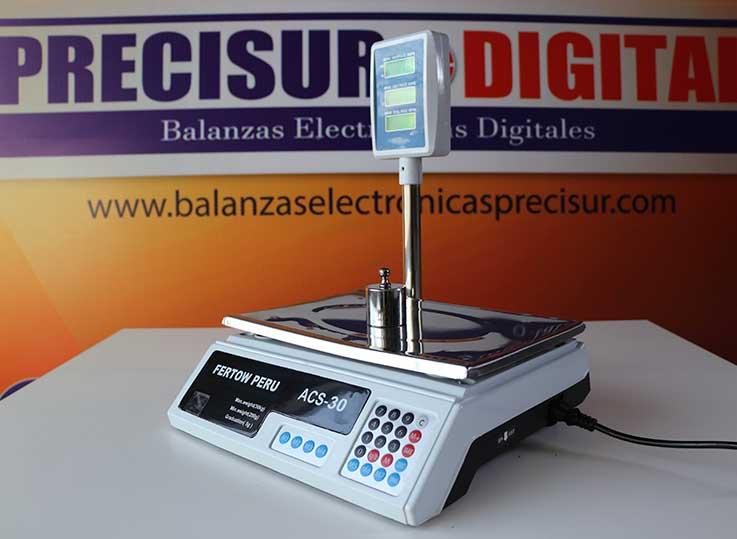 Balanza Fertow Perú ACS-30 de 30 kg