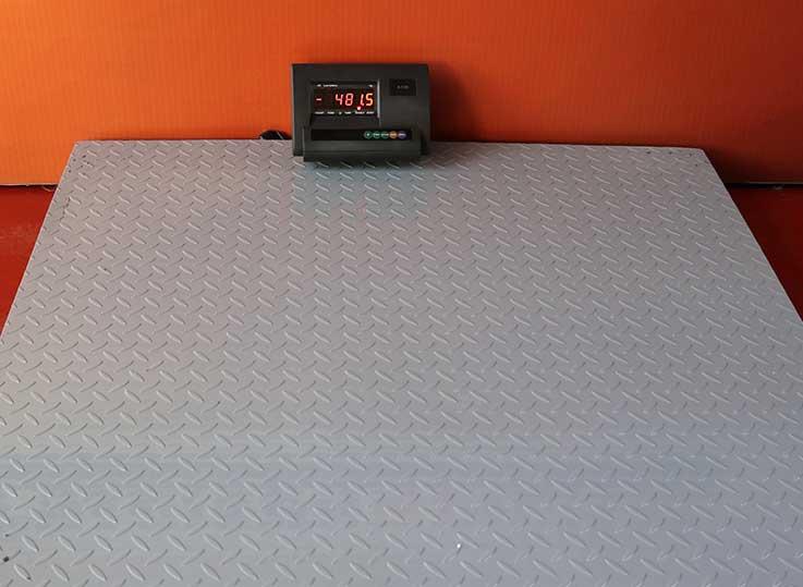 Balanza industrial tipo rampa A12 de 1 a 5 Toneladas