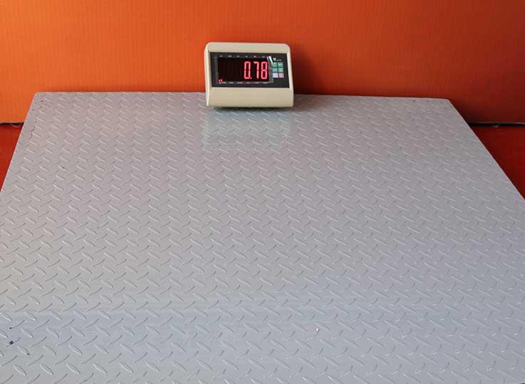 Balanza industrial tipo rampa Yaohua T7 de 1 a 5 Toneladas