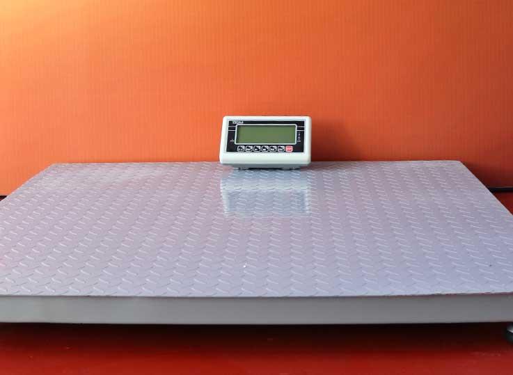 Balanza industrial tipo rampa T-Scale BW de 1 a 5 Toneladas