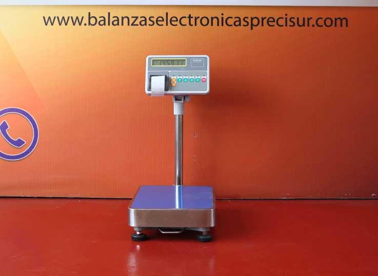 Balanza de Plataforma Etiquetadora T-Scale T2200p de 150 kg