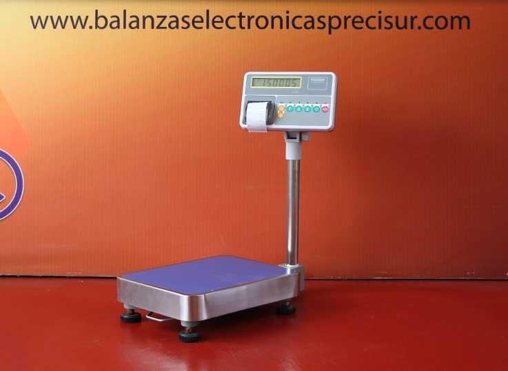 Balanza de Plataforma Etiquetadora T-Scale T2200p de 60 kg