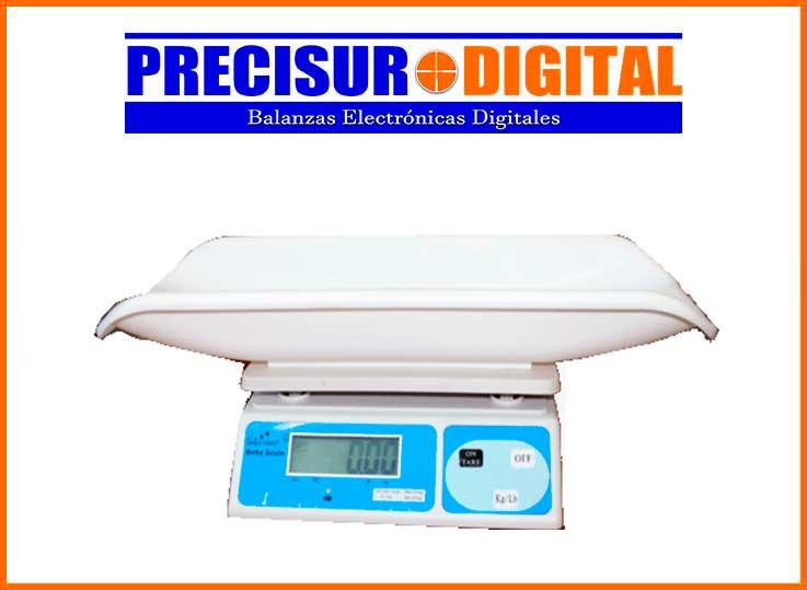 Balanza Digital Pediátrica Greetmed de 20 Kg